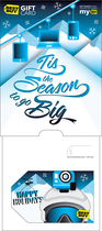 Best Buy Gc - $25 Winter Sport Holiday Gift Card