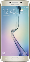 Samsung - Galaxy S6 edge 4G with 128GB Memory Cell Phone - Gold Platinum (AT&T)
