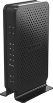 NETGEAR - N300 Wireless-N Router with DOCSIS 3.0 Cable Modem - Black
