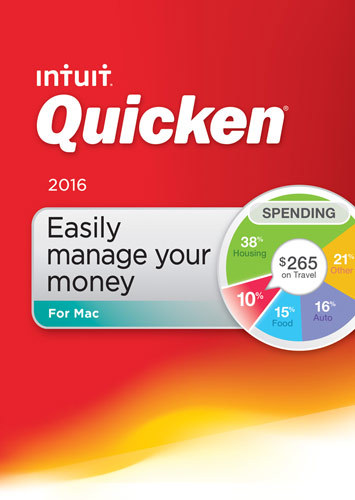 Quicken for Mac 2016 Mac INT940800F025