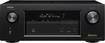 Denon - In-Command 1505W 7.2-Ch. 4K Ultra HD and 3D Pass-Through A/V Home Theater Receiver - Black