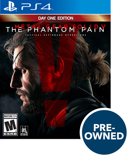 Metal Gear Solid V: The Phantom Pain - PRE-Owned - PlayStation 4