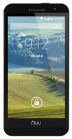 NUU Mobile - NU3S 4G with 8GB Memory Cell Phone (Unlocked) - White