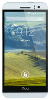 NUU Mobile - NU3S 4G with 8GB Memory Cell Phone (Unlocked) - Black