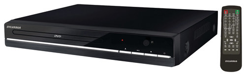 Sylvania - Compact DVD Player - Black