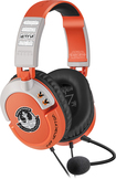 Turtle Beach - Star Wars X-Wing Pilot Over-The-Ear Gaming Headset - Orange/Gray