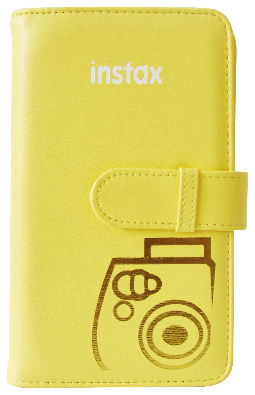 Fujifilm - Instax Wallet Photo Album - Yellow