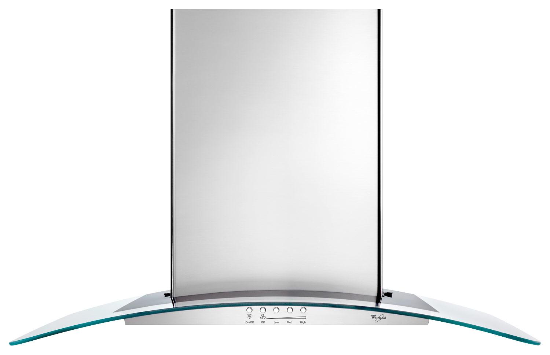 Whirlpool - 30 Convertible Range Hood - Stainless Steel (Silver)