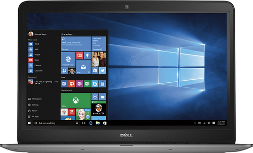 Dell - Geek Squad Certified Refurbished Inspiron 15.6 Touch-Screen Laptop - Intel Core i5 - 6GB Memory - 1TB Hard Drive - Silver