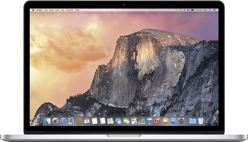 Apple - Geek Squad Certified Refurbished MacBook® Pro - 15.4 Display - Intel Core i7 - 16GB Memory - 512GB Storage - Silver