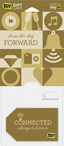 Best Buy GC - $25 From This Day Forward Gift Card - Multi