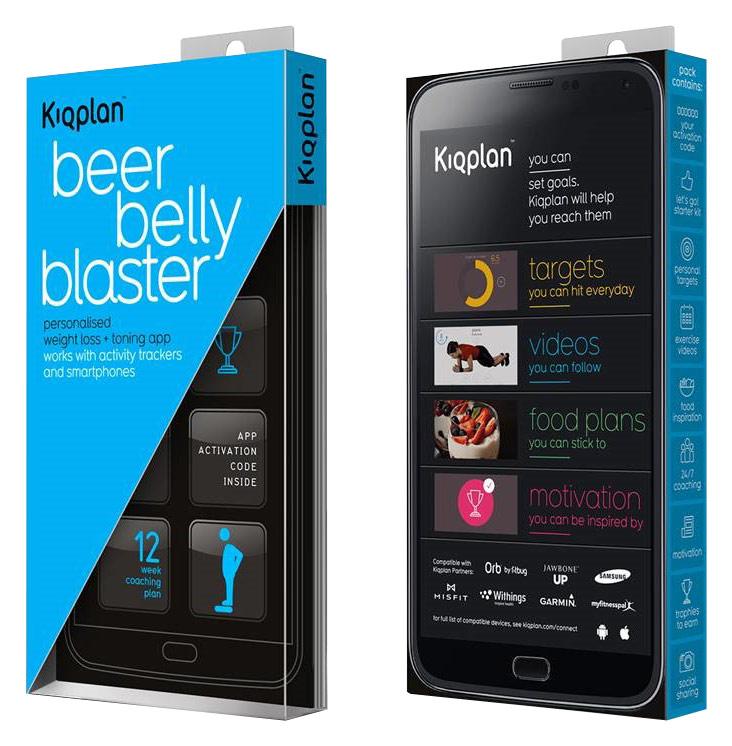 Kiqplan - Beer Belly Blaster 12-Week Digital Coaching App Subscription - Multi
