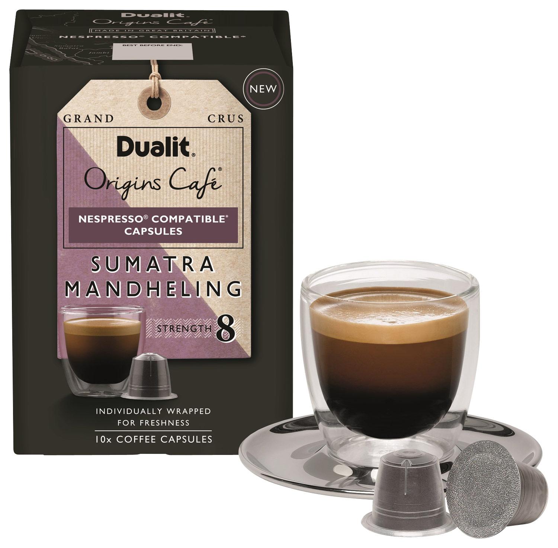 Dualit - Origins Café Sumatra Mandheling Espresso Capsules (10-pack)