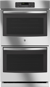 """GE - 30"""" Built-In Double Electric Wall Oven - Stainless-Steel"""