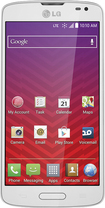 Virgin Mobile - LG Volt 4G No-Contract Cell Phone - White