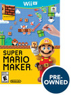 Super Mario Maker - Pre-owned - Nintendo Wii U 4538104