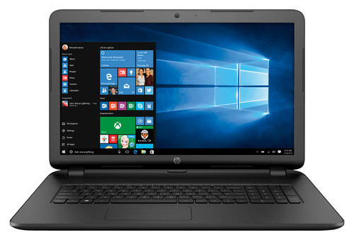 HP - 17.3 Laptop - AMD A6-Series - 6GB Memory - 750GB Hard Drive - Black