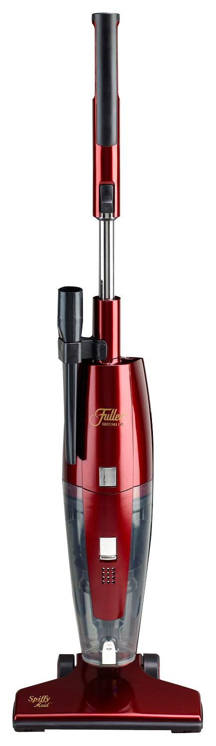 Fuller Brush - Spiffy Maid Bagless Upright Vacuum - Metallic Red