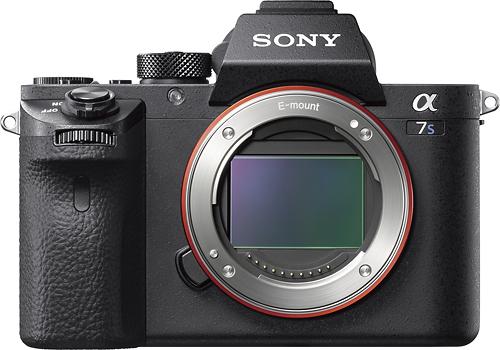 Sony - Alpha a7S II Full-Frame Mirrorless Camera (Body Only) - Black