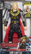 "Hasbro - Marvel Avengers: Age Of Ultron Titan Hero Tech Thor 12"" Action Figure - Black/red 4550705"