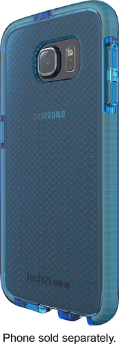 Tech21 - Evo Check Case for Samsung Galaxy S6 Cell Phones - Blue/Gray