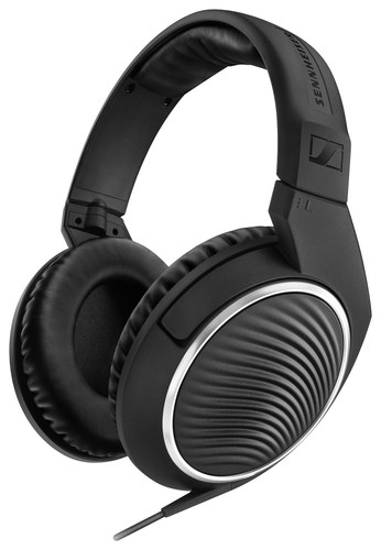Sennheiser - Over-the-Ear Headphones - Black
