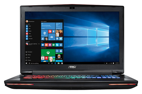 MSI - GT72S Dominator G-037 17.3 Laptop - Intel Core i7 - 16GB Memory - 1TB Hard Drive + 128GB Solid State Drive - Aluminum Black