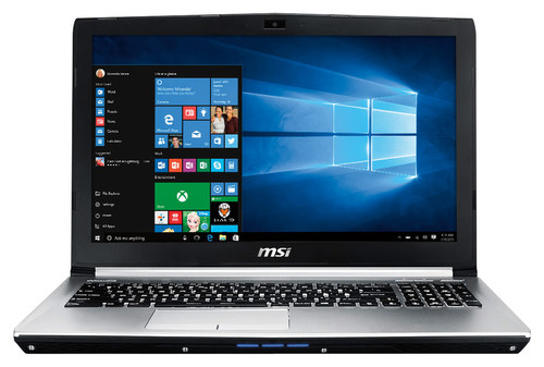 MSI - 15.6 Laptop - Intel Core i7 - 8GB Memory - 1TB Hard Drive - Aluminum Silver