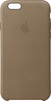 Apple - Iphone 6s Plus Leather Case - Brown