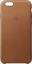 Apple - Iphone 6s Plus Leather Case - Saddle Brown