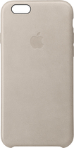 Apple - Iphone 6s Plus Leather Case - Rose Gray