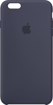 Apple - Iphone 6s Plus Silicone Case - Midnight Blue