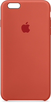 Apple - Iphone 6s Plus Silicone Case - Orange