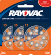 Rayovac - Size 13 Hearing Aid Batteries  - Silver