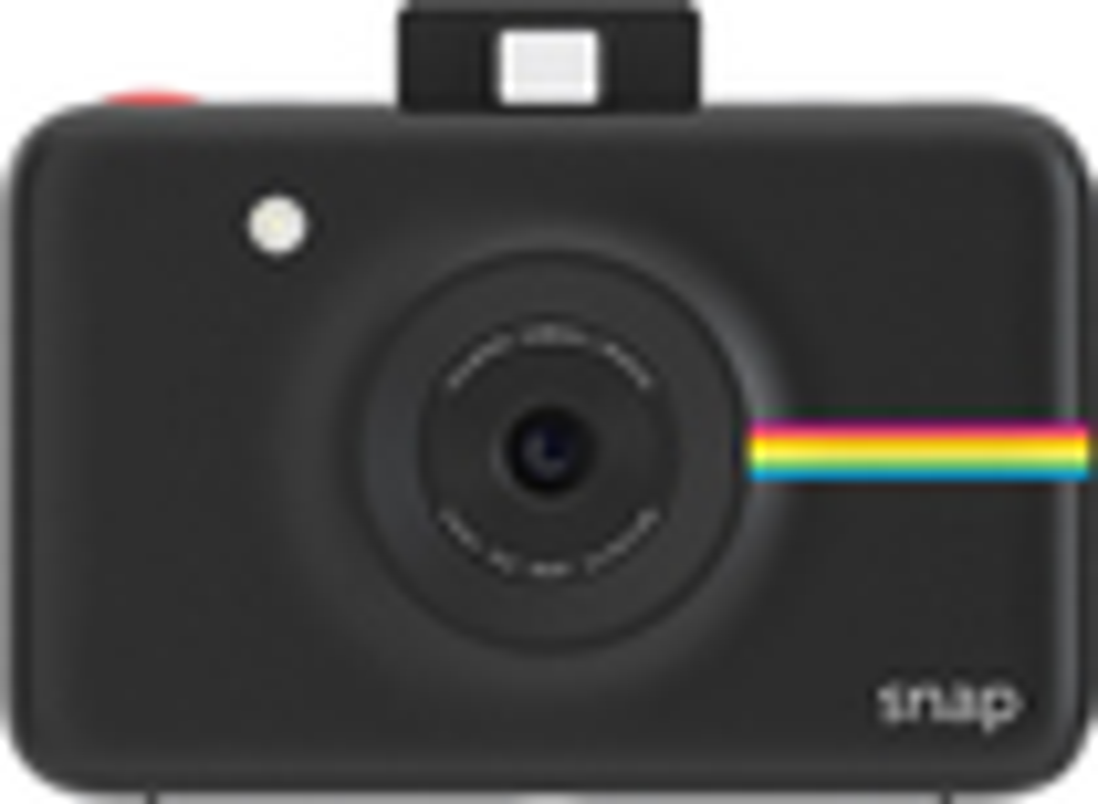 Polaroid - Snap 10.0-megapixel Digital Camera - Black