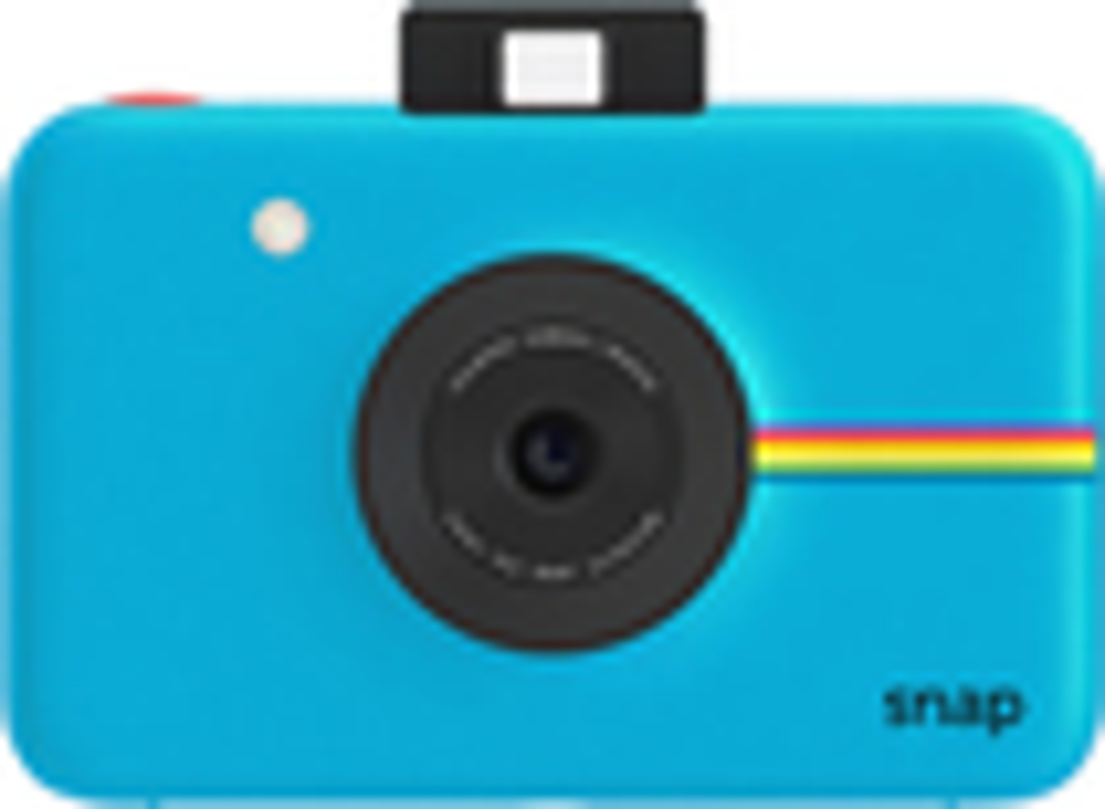 Polaroid - Snap 10.0-megapixel Digital Camera - Blue