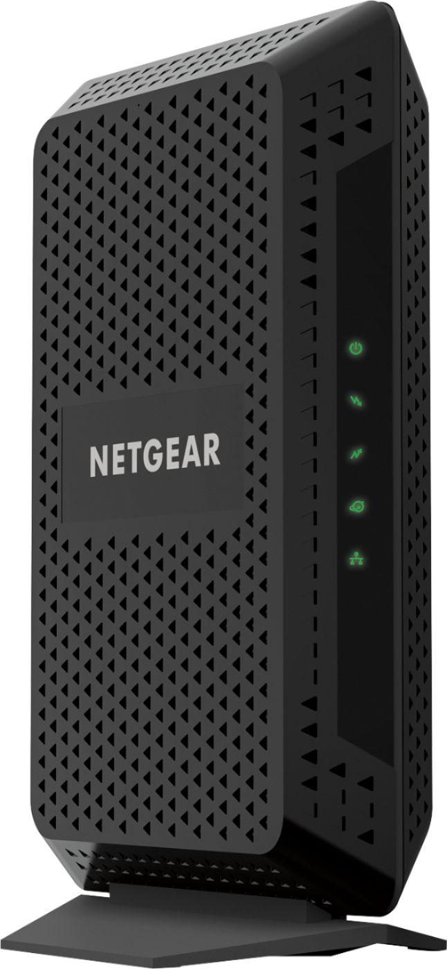 NETGEAR - CM600 Docsis 3.0 High-Speed Cable Modem - Black