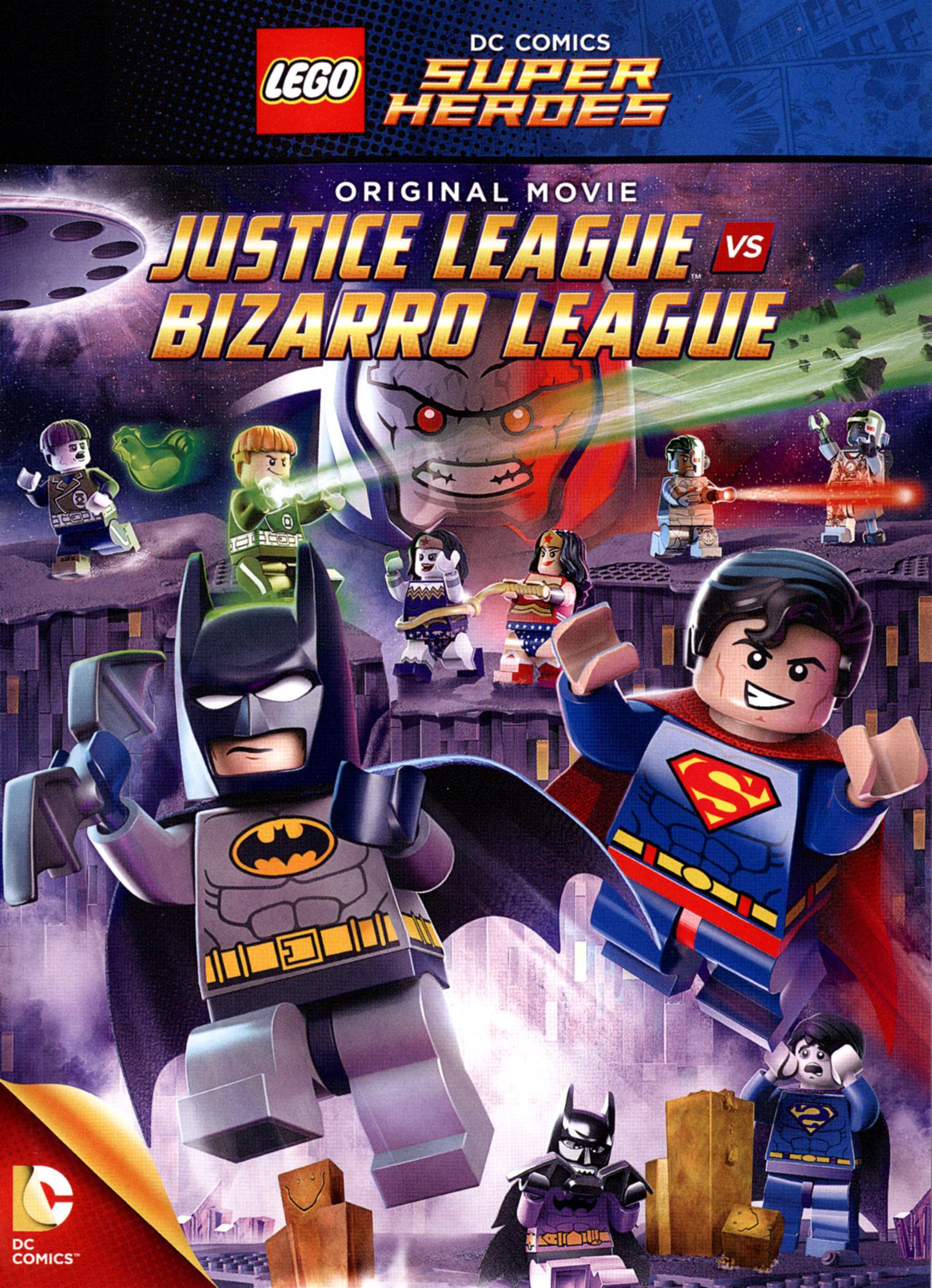 Lego Dc Comics Super Heroes: Justice League Vs. Bizarro League (dvd) 4563503