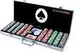 Trademark - 4 Aces 500-Piece 11.5-Gram Poker Chips