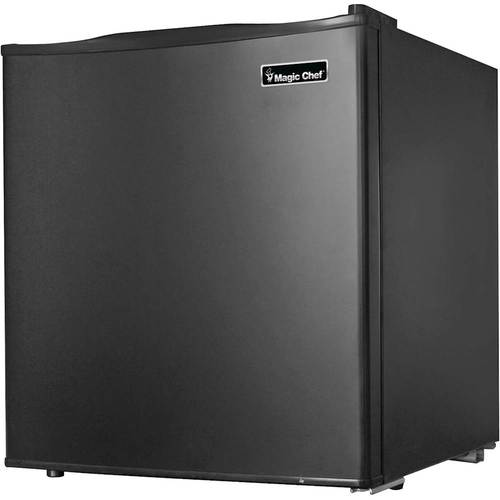 Magic Chef - 1.7 Cu. Ft. Compact Refrigerator - Black
