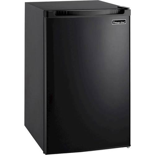 Magic Chef - 4.4 Cu. Ft. Compact Refrigerator - Black