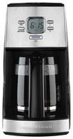 Hamilton Beach - Programmable 12-Cup Coffeemaker - Black/Stainless-Steel