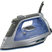 Hamilton Beach - Durathon Electronic Nonstick Iron - Gray/Blue