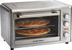 Hamilton Beach - Countertop Convection and Rotisserie Oven - Brushed Metal