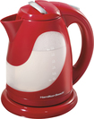 Hamilton Beach - Ensemble 1.7L Kettle - Red/White