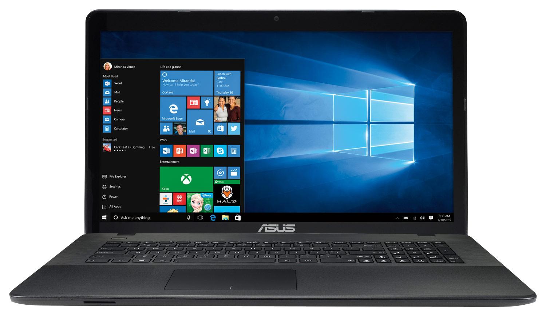 Asus - X Series 17.3 Touch-Screen Laptop - Intel Pentium - 8GB Memory - 1TB Hard Drive - Black