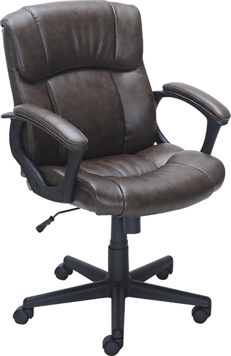 Delicieux True Innovations   Open Box   Puresoft Polyurethane Midback Manageru0027s Chair    Brown (41 Offers)