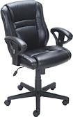 True Innovations - Puresoft Polyurethane Task Chair - Black