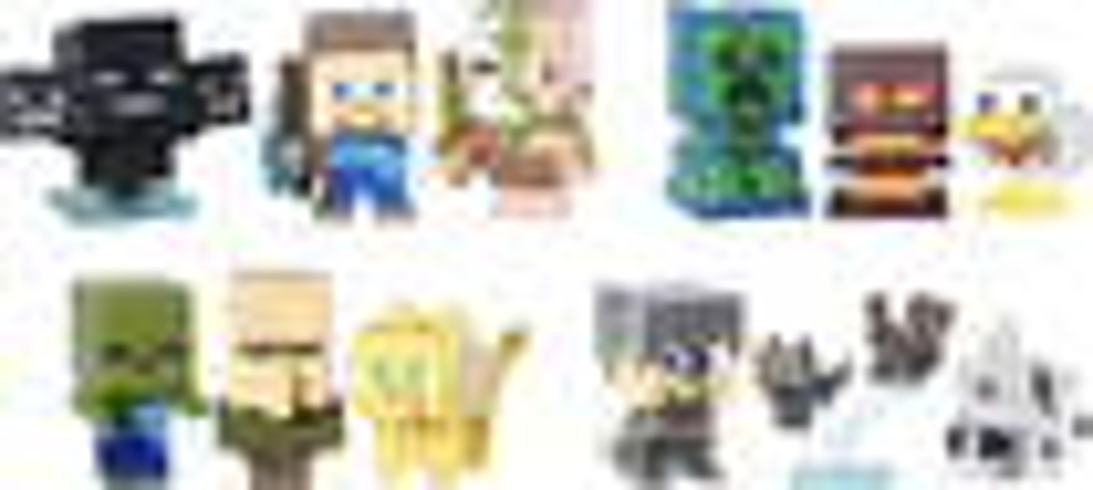 Mattel - Minecraft Mini Figure 3-pack - Multi 4570110
