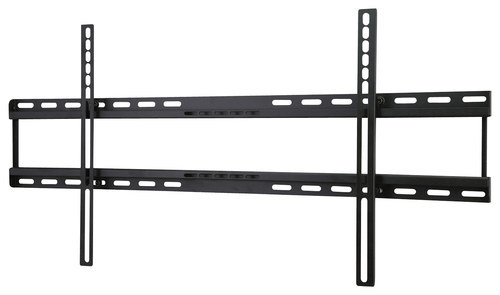 Peerless-AV - Universal Fixed TV Wall Mount for Most 42 - 75 Flat-Panel TVs - Black